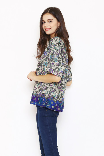 Vanya Top in Blue image