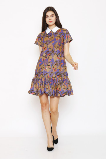 Karla Dress in Blue image