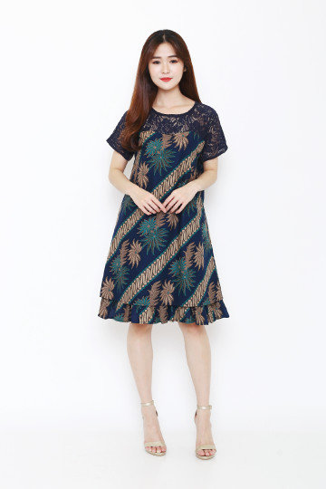 Sia Dress Navy image
