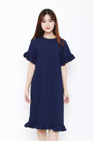 Lucy Dress Navy image