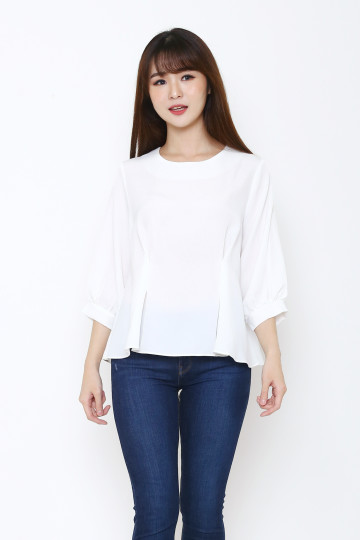 Audrey Top White image