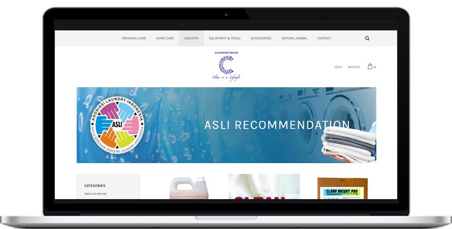 Langkah 7 Cleanshop-ASLI