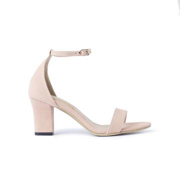 Jane Pink Block Heels