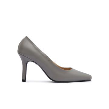 Court Grey Heels
