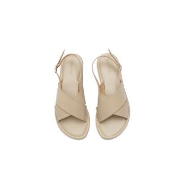 Gea Nude Cross Sandal