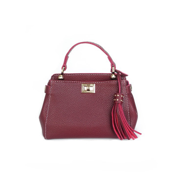 Zena Maroon Bag