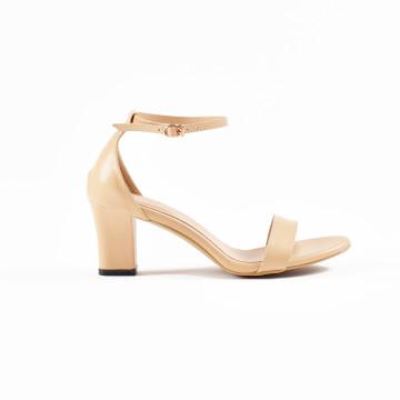 Jane Nude Block Heels