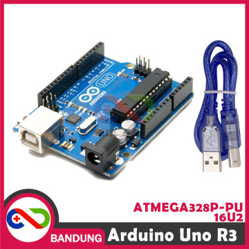 ARDUINO UNO R3 ATMEGA328P ATMEGA 16U2 COMPATIBLE BOARD PLUS USB CABLE