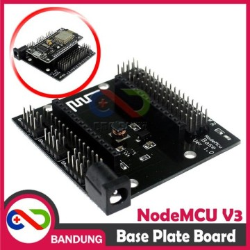 BASE PLATE DEVELOPMENT BOARD FOR NODEMCU LUA WIFI ESP8266 BACKPLANE