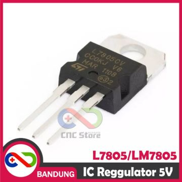 L7805CV L7805 7805 TO-220 POSITIVE VOLTAGE REGULATOR 5V