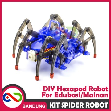 ROBOT LABA LABA HEXAPOD ELECTRIC SPIDER ROBOT KIT DIY STEAM EDUCATION