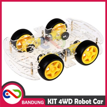 KIT SMART CHASSIS CHASIS 4WD ROBOT CAR MOBIL ARDUINO RASPBERRY