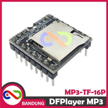 DFPLAYER DF PLAYER MINI MP3 PLAYER MODULE FOR ARDUINO MP3-TF-16P