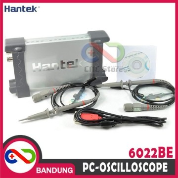 HANTEK 6022BE DIGITAL OSCILLOSCOPE OSILOSKOP 20MHZ 2 CHANNEL PORTABLE USB PC