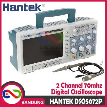 HANTEK DSO5072P DIGITAL OSCILLOSCOPE DSO 2 CHANNEL 70MHZ 1GSA/S