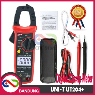 UNI-T UT204+ UT-204+ DIGITAL CLAMP METER MULTIMETER AMMETER 40A 600A AC DC