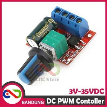 VARIABLE PWM MOTOR SPEED LED DIMMER CONTROLLER DC 5A 3V-35V DC 5A ARDUINO UNO NANO MINI