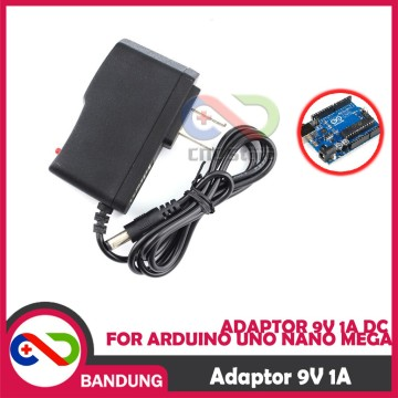ADAPTOR 9V 1A DC POWER SUPPLY FOR ARDUINO UNO NANO MEGA