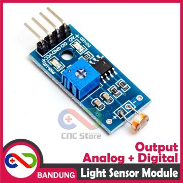 PHOTOSENSTIVE LIGHT LDR RESISTANCE SENSOR CAHAYA MODULE FOR ARDUINO UNO MEGA