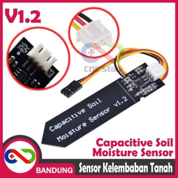 CAPACITIVE SOIL SENSOR TANAH HYGROMETER HUMIDITY MOISTURE MODULE