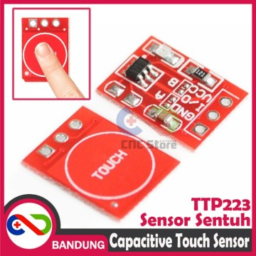 TTP223 TOUCH SENSOR SENTUH CAPACITIVE SELF LOCKING SWITCH