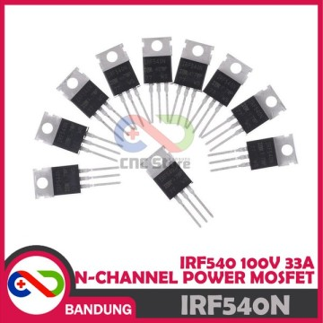 IRF540 IRF540N 100V 33A N-CHANNEL TO-220 TRANSISTOR MOSFET