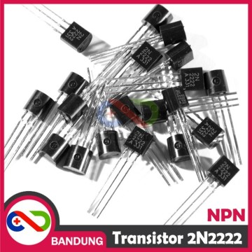 10PCS 2N2222 TO-92 500MA FAST SWITCHING NPN TRANSISTOR