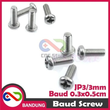 10PCS BAUT SPACER 3MM JP3 PANJANG 5MM
