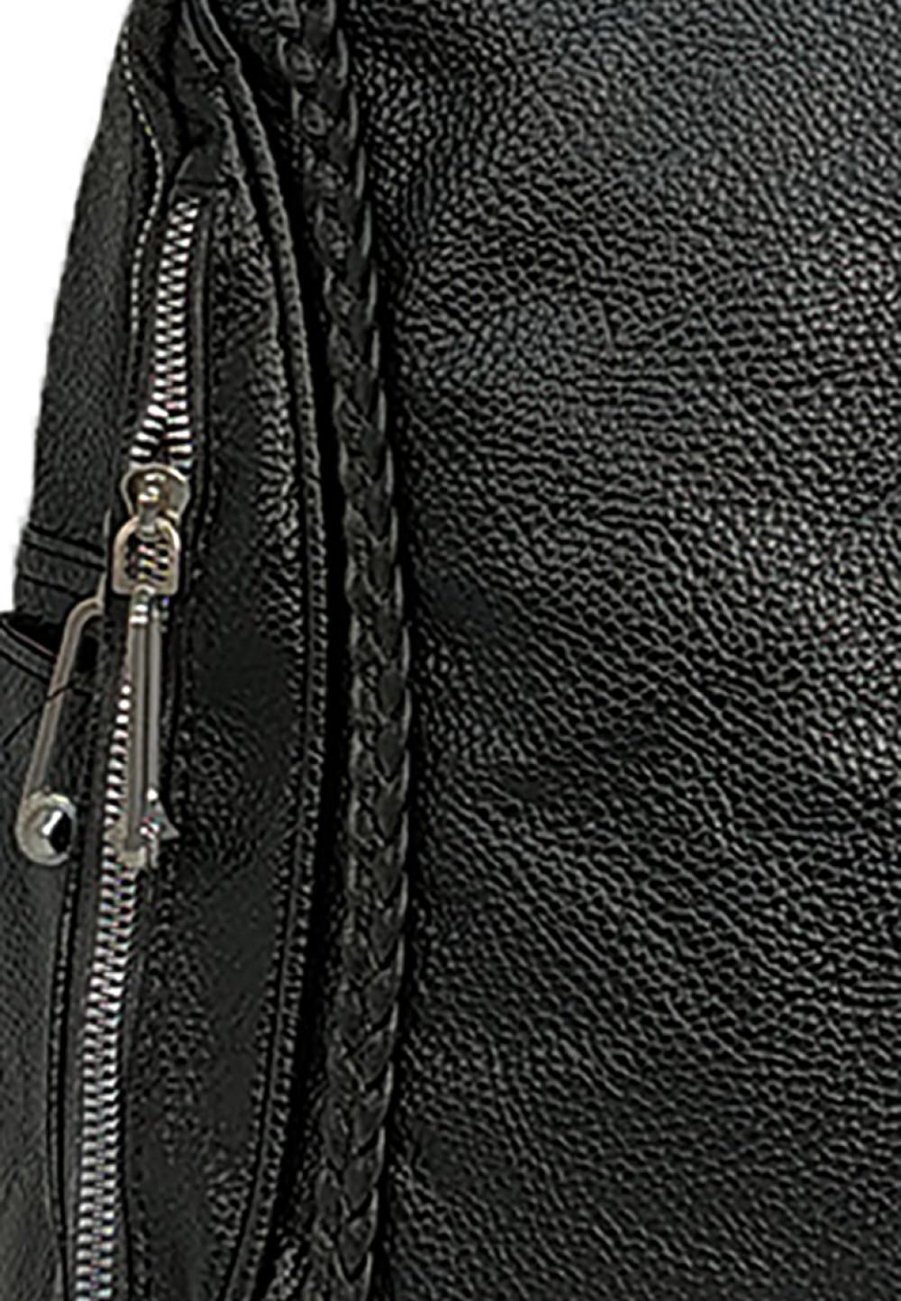 Catriona Devon Backpack Black Akina Top Handle Bag