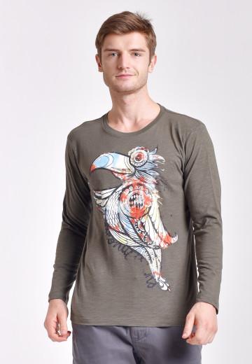 Men Loose Custom - FMLC003G1 bird
