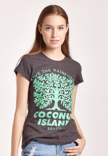 Coconut Island Ladies Easy Tee DLET228-H1