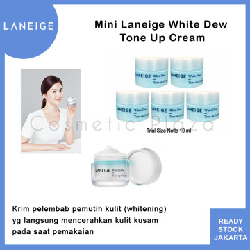 Laneige White Dew Tone-up Cream Trial Kit 10 ml