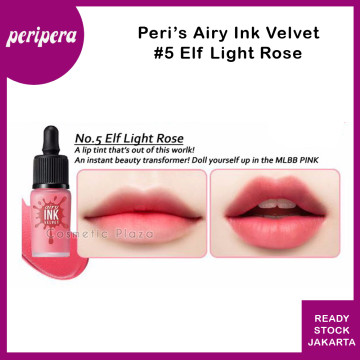 Peripera Airy Ink The Velvet 5. Elf Light Rose