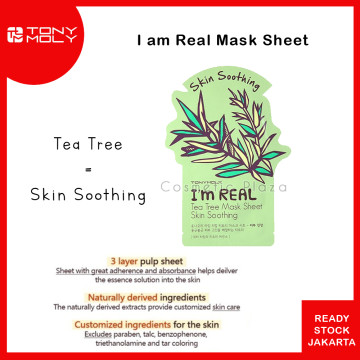 Tony Moly Im Real Mask Tea Tree
