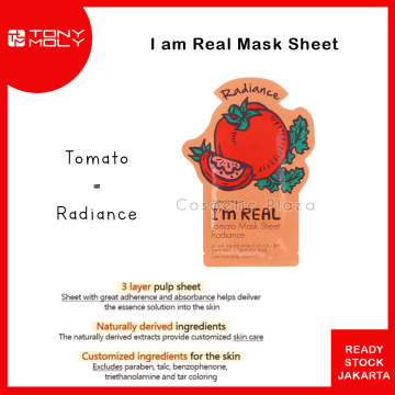 Tony Moly Im Real Mask Tomato
