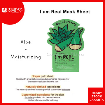 Tony Moly Im Real Mask Aloe