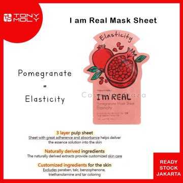 Tony Moly Im Real Mask Pomegranate