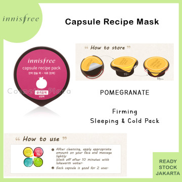 INISFREE Capsule Recipe Pack Pomegranate - Firming (COLD PACK)