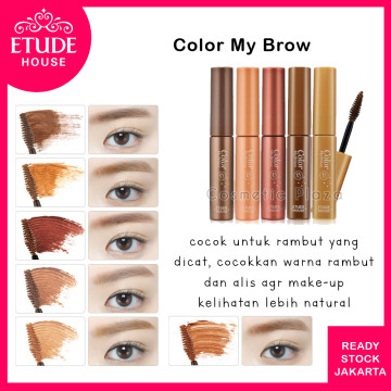 Color My Brow 3 Red Brown