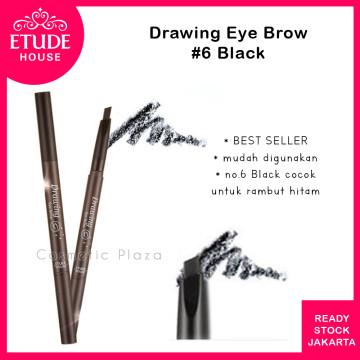 Drawing Eye Brow 36mm (longer) 06 Black