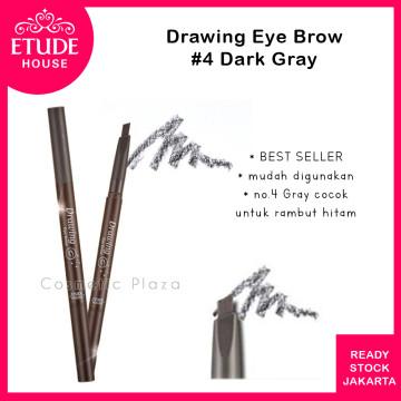 Drawing Eye Brow 36mm (longer) 04 Dark Grey