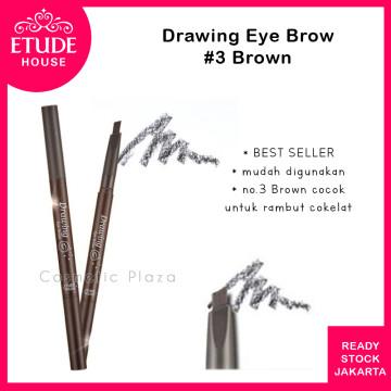 Drawing Eye Brow 36mm (longer) 03 Brown