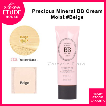 Precious Mineral Beautifying Block Moist (BB Cream) SPF 50 PA++ isi 45ml  #21 Beige