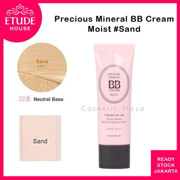 Precious Mineral Beautifying Block Moist (BB Cream) SPF 50 PA++ isi 45ml  #22 Sand
