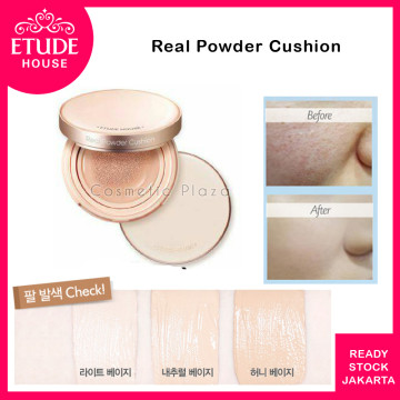Etude House Real Cushion Powder  W24 Honey Beige