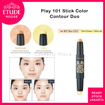 Etude House Play Stick Color Contour Duo 01 Blue Out