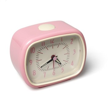 Alarm Clock Bakelite Pink
