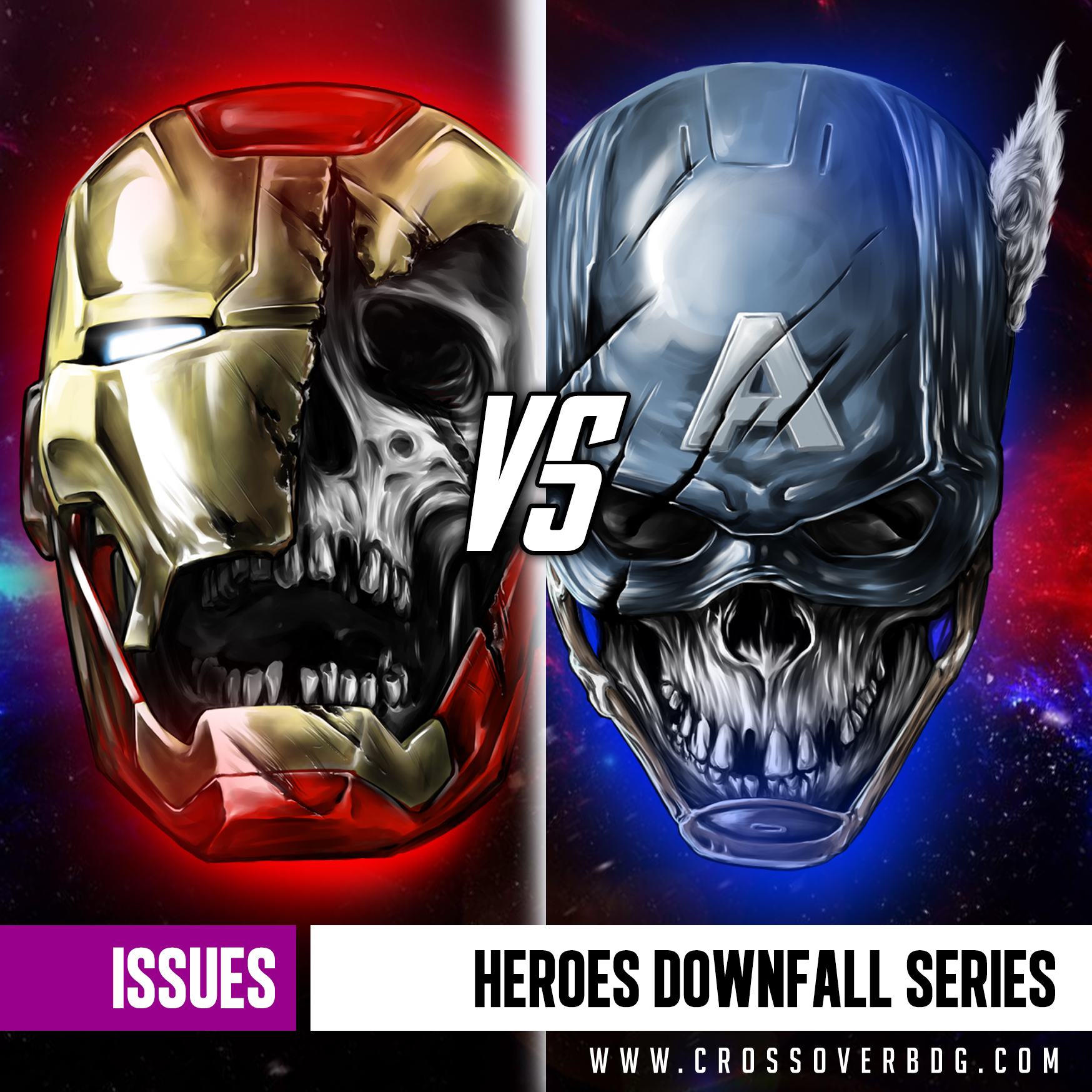 ISSUES : HEROES DOWNFALL SERIES image