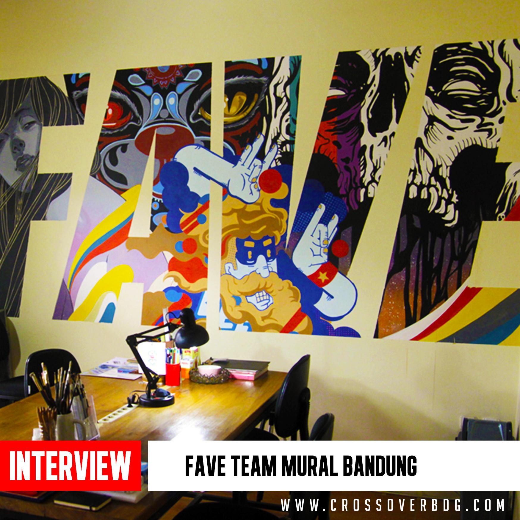 INTERVIEW :  @faveteam MURAL Bandung image