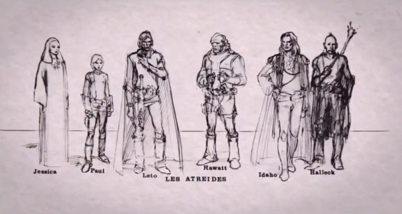 Jodorowsky Dunes Character Design 1